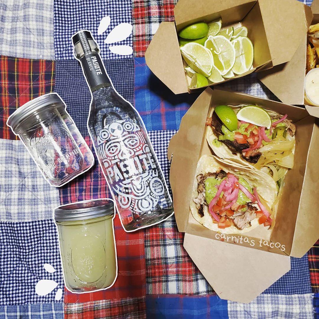Fridays call for to-go margs and carnitas tacos 🌮🌮 - 📸  IG @bayareaeatssf - #pasotetequila #pasote #tequila #blanco #reposado #anejo #premiumtequila #margarita #spicymargarita #agavespirits #craft #craftspirits #tacos #tacotuesday #tequilatuesday #friday #eatsf https://t.co/wS1jpjzzOc