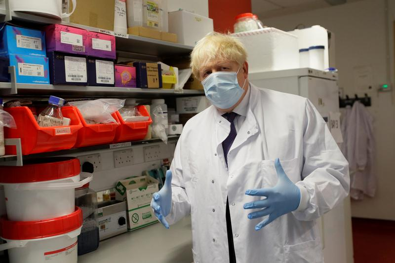 UK PM Johnson says second wave of virus inevitable, new restrictions possible