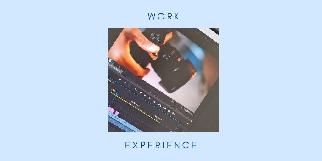 Week one of work experience is: complete ✅  Been quite challenging getting up early 5 days a week but it's worth it!  🎥 Looking forward to the next two weeks.   #workexperience #journalism #adobe #premierepro #marketing https://t.co/3UmGHB9zJa