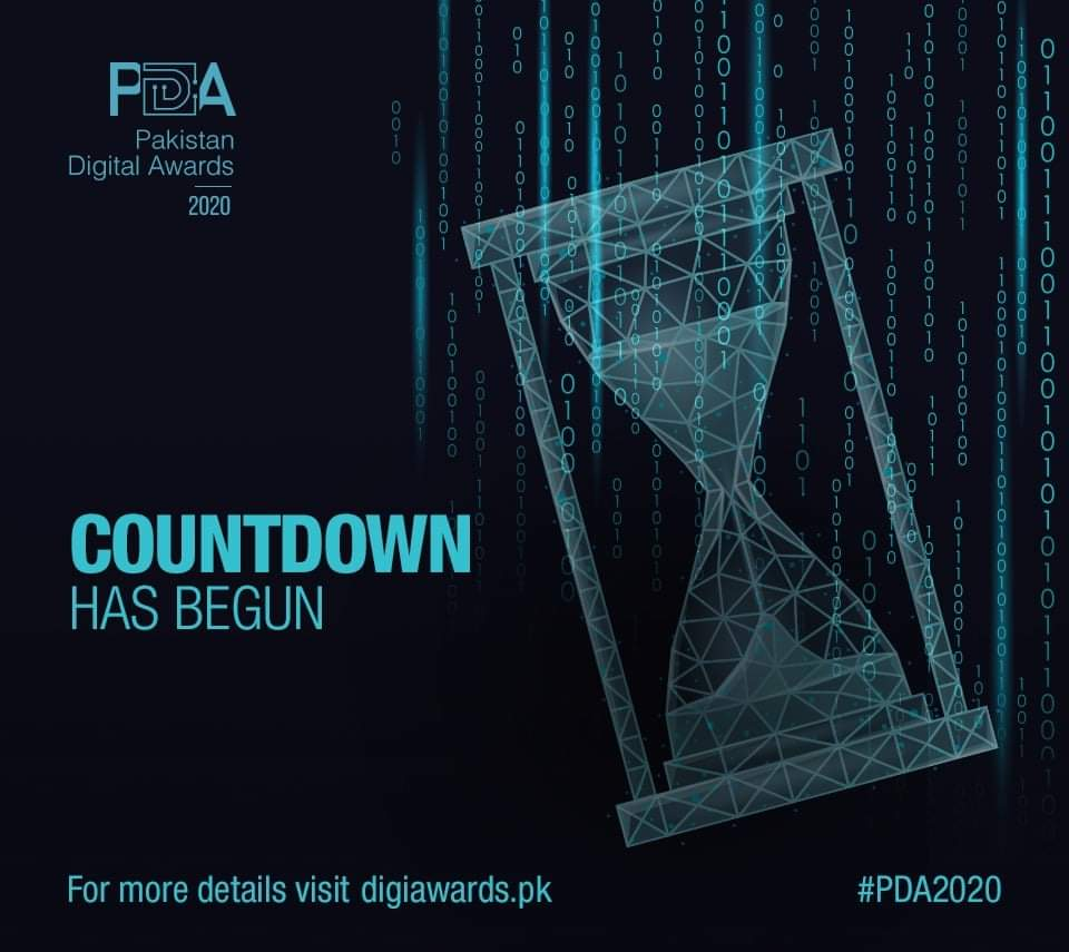 Countdown begins ⏰ Pakistan Digital Awards 🏆 is happening tomorrow. Best of luck to all the participants 👍 Curios to know the winners.