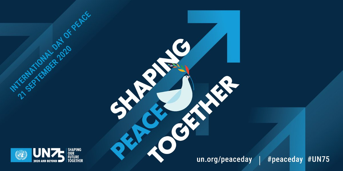#COVID19 has reminded us that we are all interconnected and need to work together to overcome global challenges. On Mondays #PeaceDay & every day, join us in spreading compassion, kindness & hope in the face of the #coronavirus pandemic. bit.ly/3chP6jV