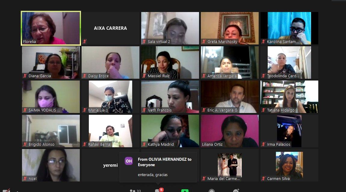 📌#UNODC y @PanamaULatina ofrecen un diplomado 👨🎓👩🎓en Violencia de Género y Blanqueo de Capitales en el que participan 180 colaboradores de los cuatro distritos judiciales del @Ojudicial. https://t.co/S0TKBrbGnN