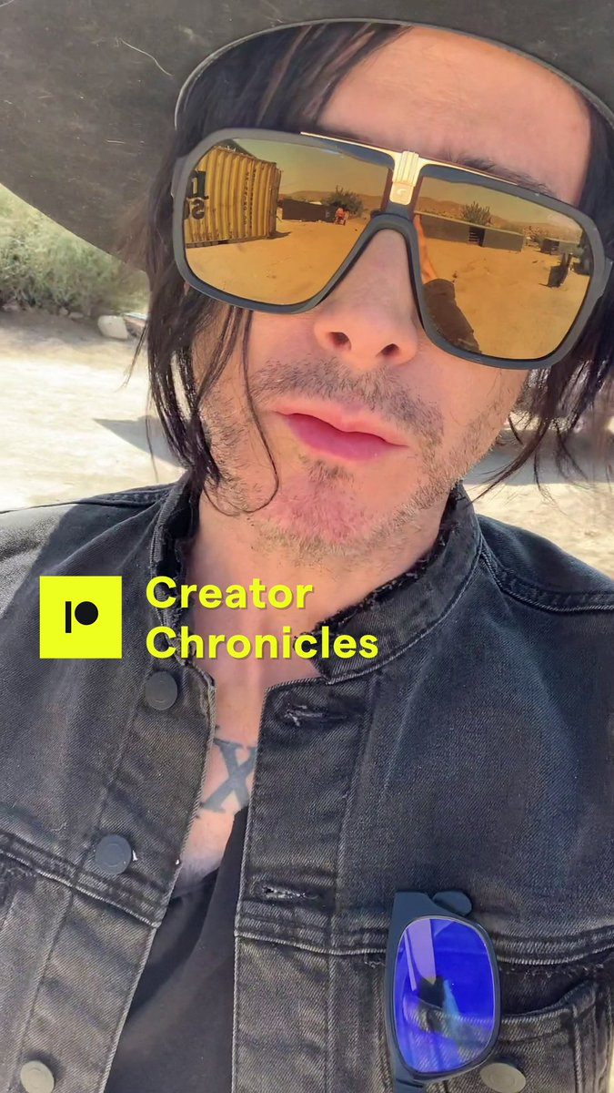 Creator Chronicles No.3  Walking off a morning panic Turning suffering into a drive to create Ridding the studio of (mental) clutter Battling cable spaghetti  Watch: https://t.co/DZhUWqapGj  [See extended v. at: https://t.co/760s3g5bna] #CreatorChronicles #CultOfIAMX @Patreon https://t.co/MpkkR3iVAS