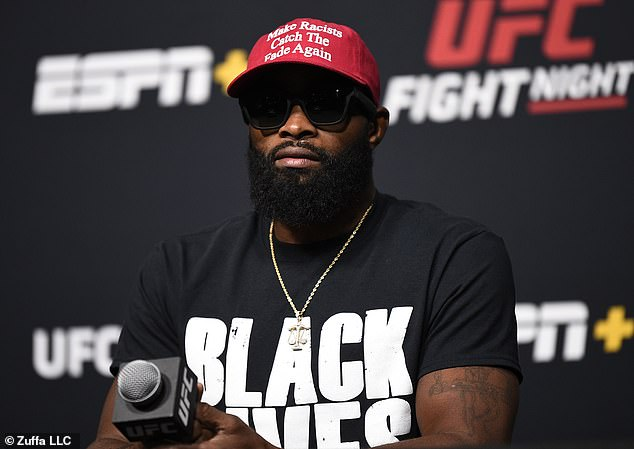 I just don't understand why some people get triggered by Tyron Woodley wearing 'Black lives matter' shirt? #UFCVegas11 https://t.co/DJVE8iBff6