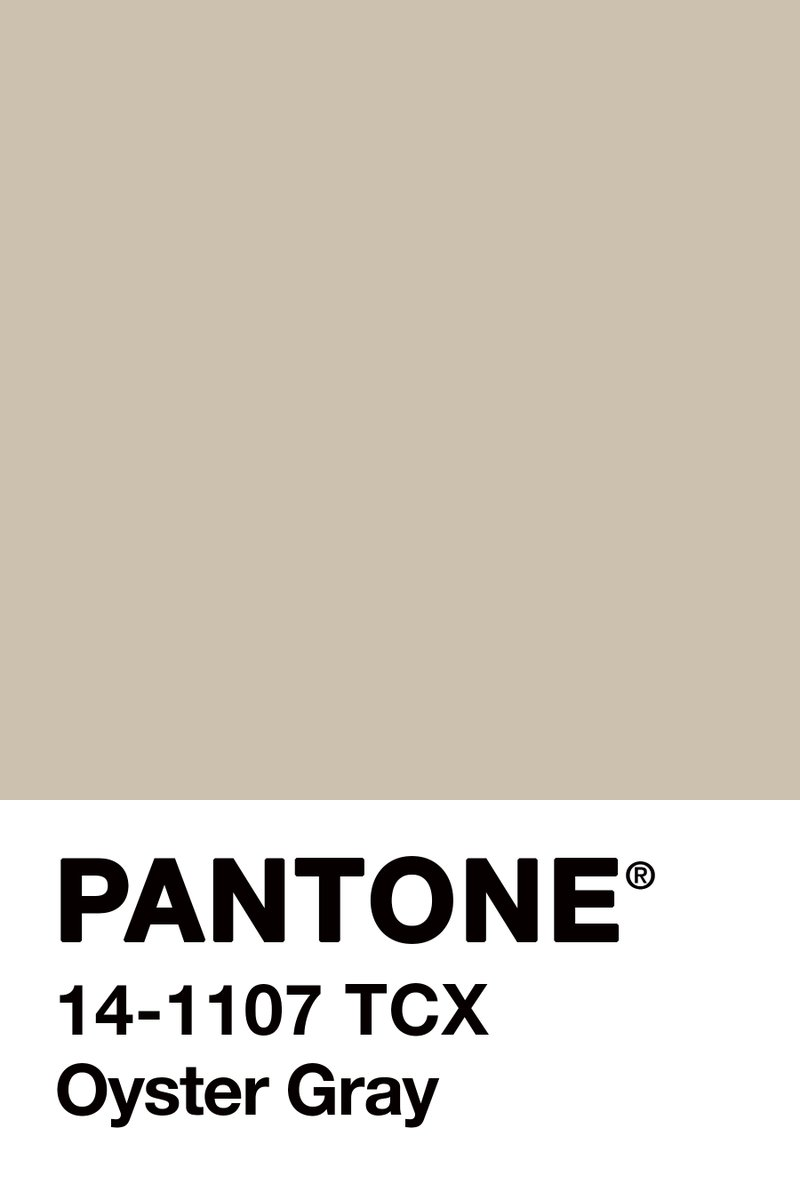 #ColourOfTheDay #September18th @Pantone #Oyster #GRAY...  A #FridayFeeling colour for a day in which I felt very, very #old...  #MoodColour #ColourInspires https://t.co/MvbwMblDEk