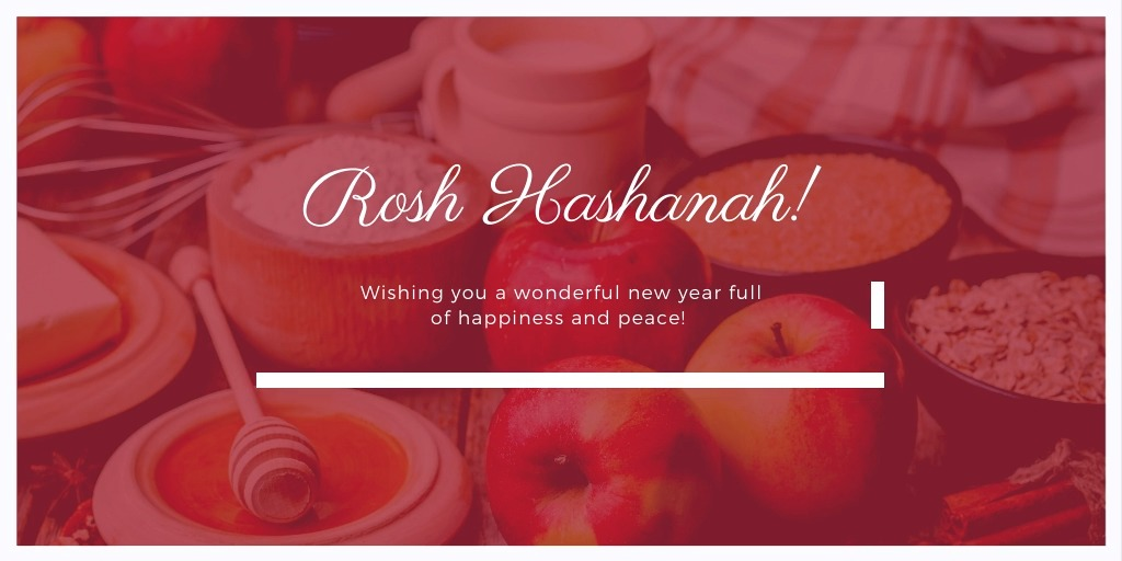 Tonights sunset marks the beginning of #RoshHashanah. The two-day celebration is the start of the Jewish New Year and leads to Yom Kippur. It is typically filled with shared meals and prayer amongst loved ones. 💛 #ShanaTovah