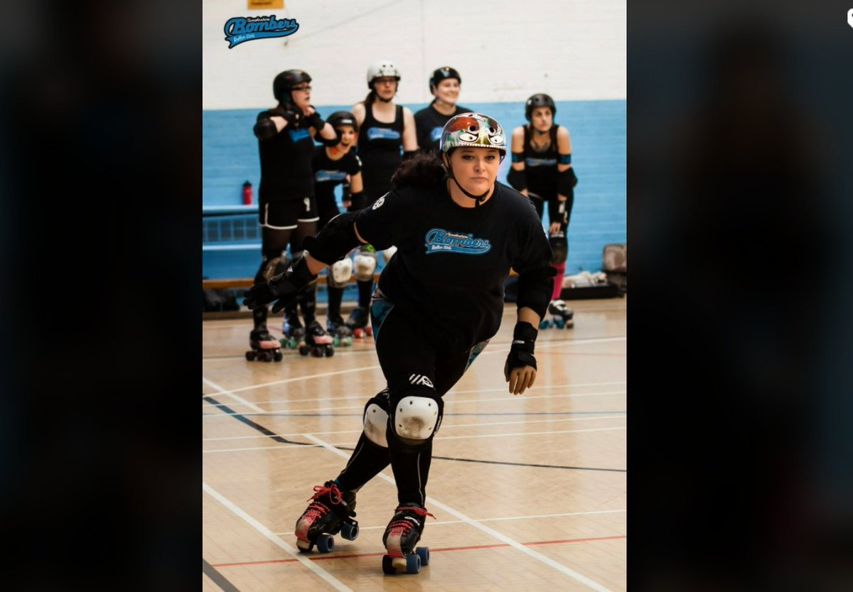 As far as I know I'm still the only #RollerDerby player with a prosthetic limb in the UK!There's no ball in the sport, unlike #Alita's #Motorball, in fact a person (the Jammer) is basically the ball!  Looking forward to tying laces with ease with a new Bionic #HeroArm #AlitaArmy https://t.co/bu9tIx76Xo https://t.co/oq8R2XmZ2M