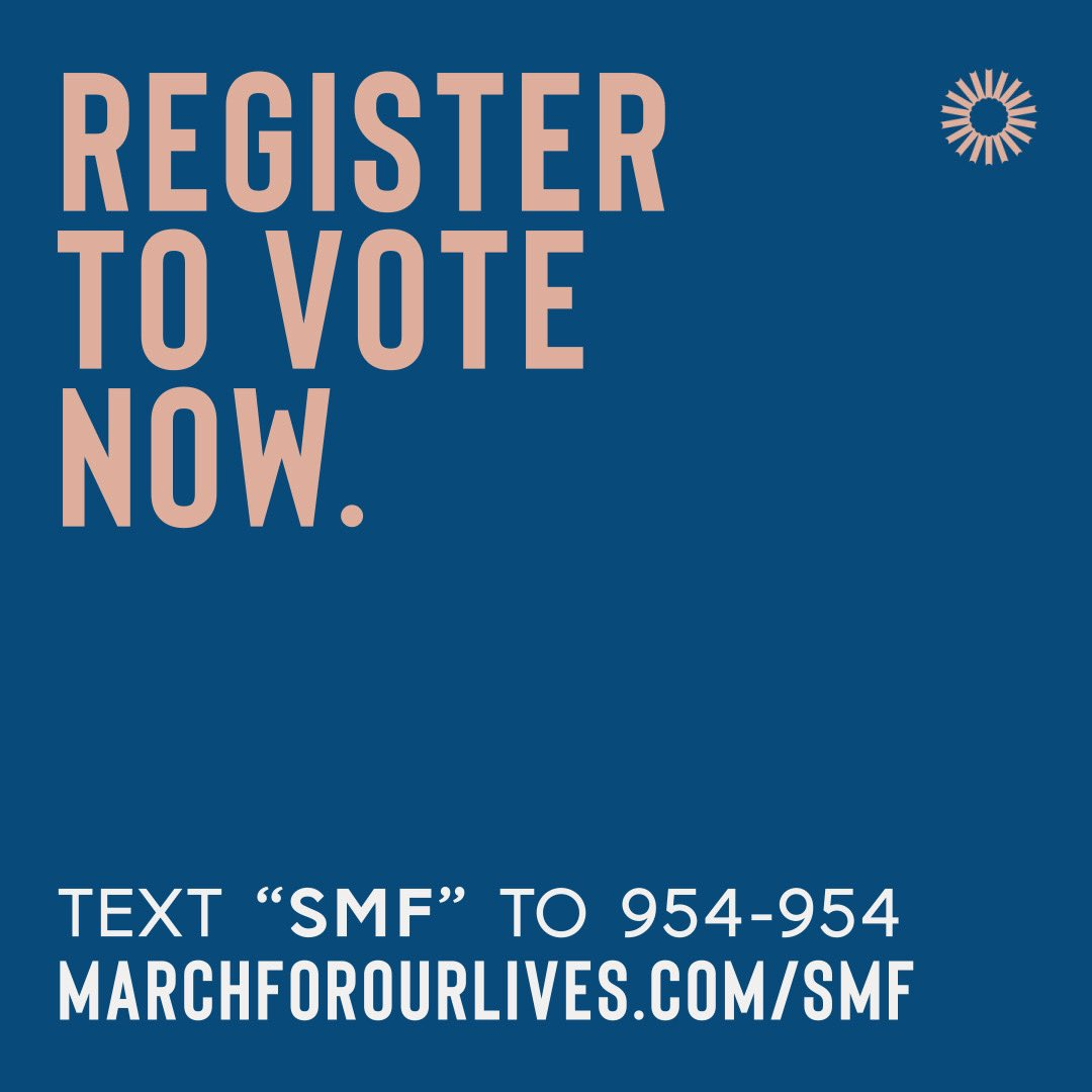 Leading up to voter registration day on Tuesday, I'll be handing over my IG stories to some powerful activists discussing why it is so so important to vote. If you haven't yet, please register to vote now at https://t.co/buuGQya9GF or by texting SMF to 954-954 https://t.co/JhLBXUHogG