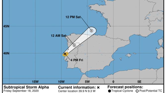 Per primera vegada neix un cicló subtropical davant la costa de Portugal https://t.co/ALqVyD7XCc #ElTempsTV3 https://t.co/thfHSvq4Ix https://t.co/JvM2aS3PQZ
