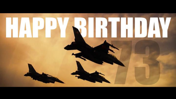 Fly, Fight and Win Happy 73rd birthday @usairforce and all airmen – past and present – who protect our nation in the air, space and cyberspace! #USAF73