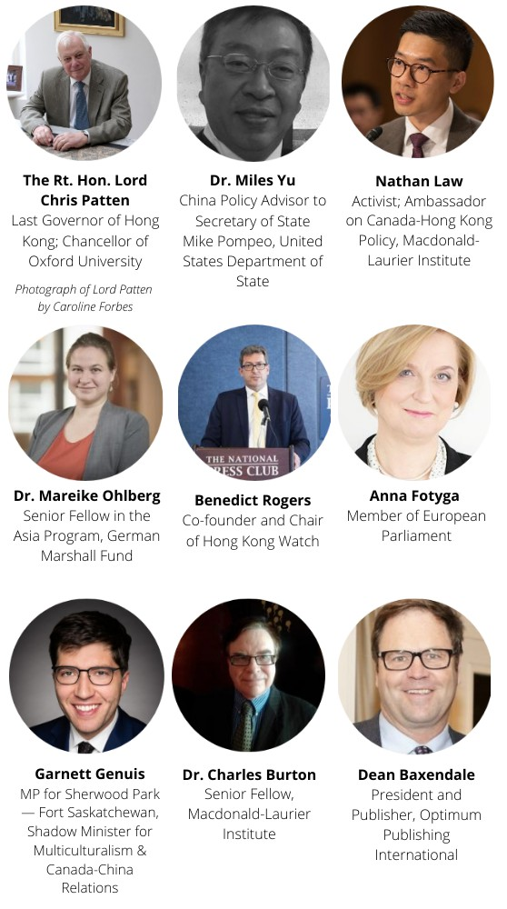 A line-up you shouldn't miss in this @MLInstitute webinar on HK next week 👇👇 #cdnpoli #cdnfp https://t.co/0ncdHI3yHn