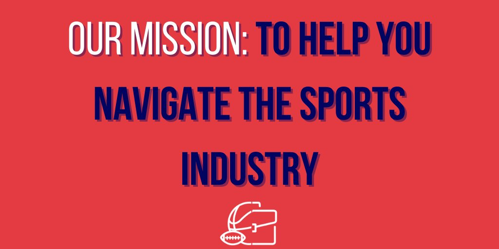 To our new members of the community, we want to take this time to truly introduce ourselves.   We are Sports As A Job, the home of the aspiring or working sports professional.   This is a thread of the different ways we bring value to you.  #sportsbiz #smsports #sportsasajob https://t.co/2lpqCnKdOs