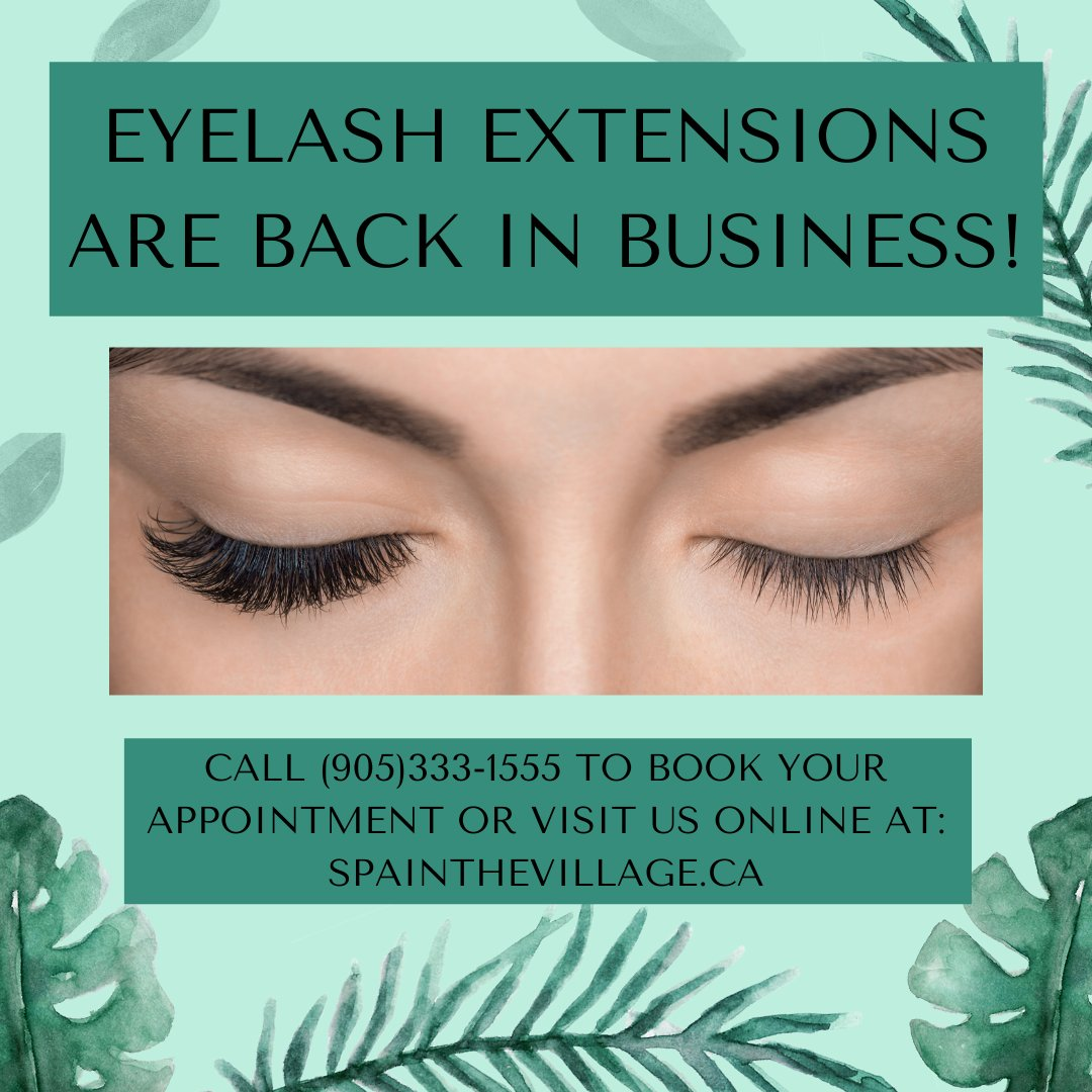 Save precious time in the morning and get lash extensions!! Contact us for an appointment! 😍  #dtburlon #villagesquare #eyelashextensions #lashextensions #volume #hybrid #backtoschool #backtowork https://t.co/Pacs5MLQa4