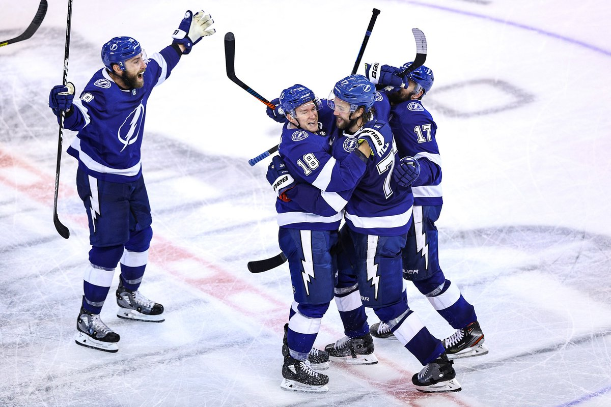 Huge congrats @TBLightning for advancing to the NHL Finals! Lets bring the cup back to Tampa. #GoBolts