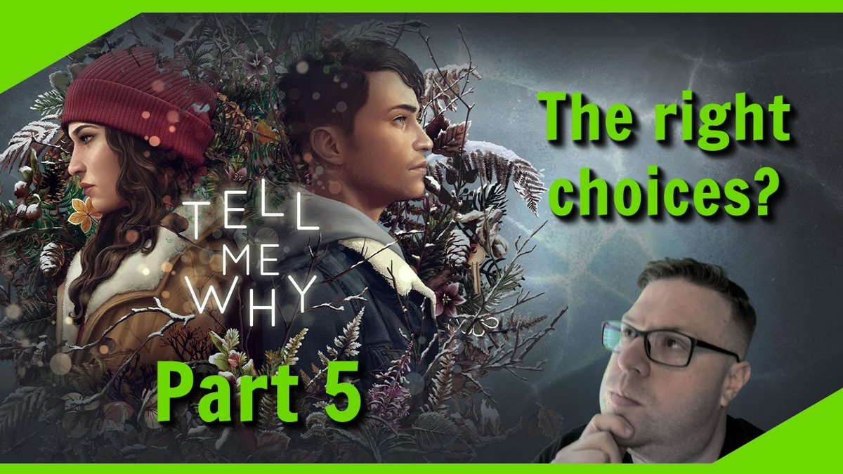 "Back at it today playing ""Tell Me Why."" Join me as we explore the Forbidden Room and we get Busted at gun point! #TellMeWhy #BeautifulGame #KitMichaels #LetsPlay  Watch Now: https://t.co/b0xA5TP4IO https://t.co/4S4WCjKaub"