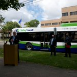 Image for the Tweet beginning: Yesterday, Valley Transit unveiled one