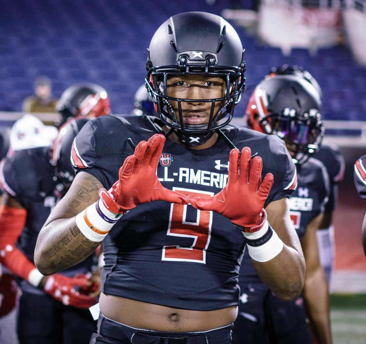 Our #FridayFocus this week is on @CanesFootball TE and #UAALLAMERICA standout @Brevinjordan! After catching 3 balls 🏈🏈🏈 for 51 yards and a TD last week, #9 is healthy and ready to show out on PRIME TIME, tomorrow night! #ItsAllAboutTheU  @UAFootball #TheOnlyWayIsThrough https://t.co/AQm9unAZt7