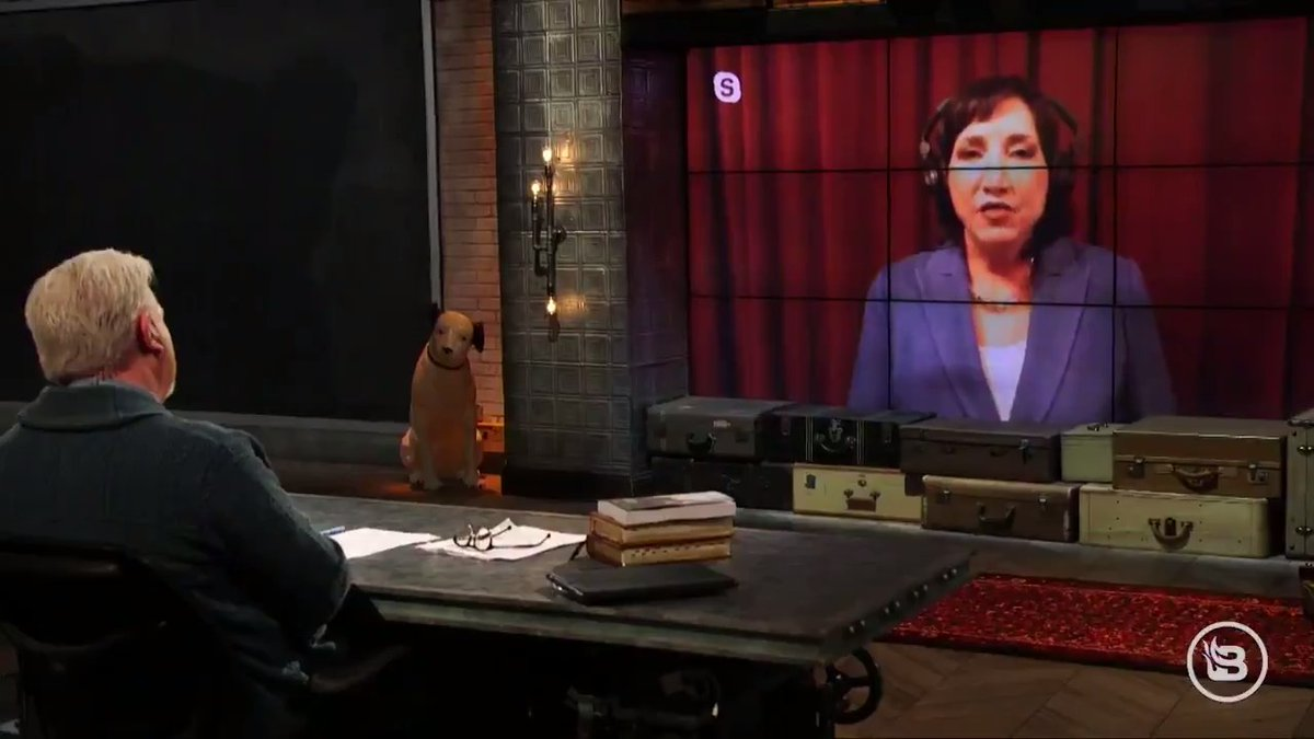 Thank you, @glennbeck, for taking time with me today and discussing the media blackout.   If you'd like to see more of our interview you can catch it on https://t.co/piZrEtCtr1. #Election2020 #LetHerSpeak #DebateMayhem
