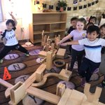 Image for the Tweet beginning: Future engineers. Pre K Angels