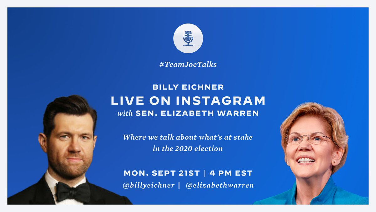 This will be fun! Hope you can tune in and join us. (And happy birthday, @BillyEichner!)