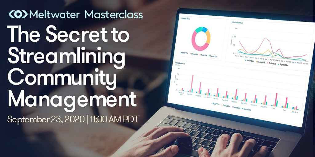 #Communitymanagement comes down to two things: collecting feedback from customers & simplifying your response process. 🗣💬Learn how to take a mindful approach to both in our upcoming #Masterclass.  Register now: https://t.co/fsFrbCMKx8 #socialmediatips https://t.co/mQ155b8paH
