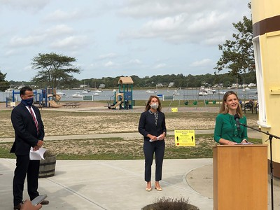 ✅ @EEASecretary & @MassLtGov traveled to Dartmouth to celebrate a recent grant award through @MassDOER Green Communities program.  ✅ @MassCZM traveled to Salem to announce $4 million in grants to support coastal resilience projects in the Commonwealth. https://t.co/mHW08qxoxB