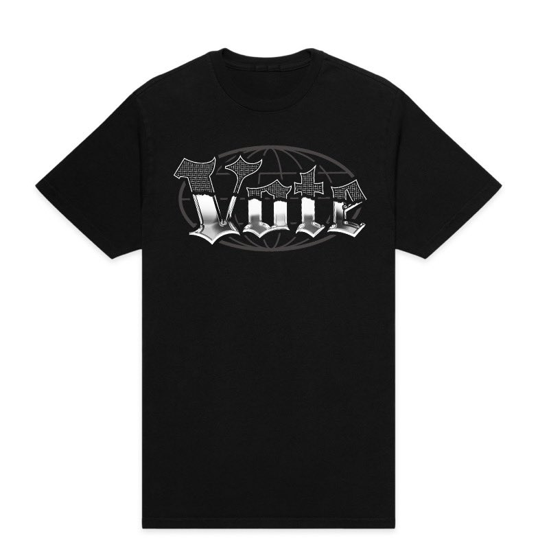 "I've made another T-Shirt in which 100% of the profits will be split and donated to ""More Than A Vote"" and ""Reform Alliance"", which are helping fight voter suppression and systemic racism. Grab em at endthistogether.com/products/vote"