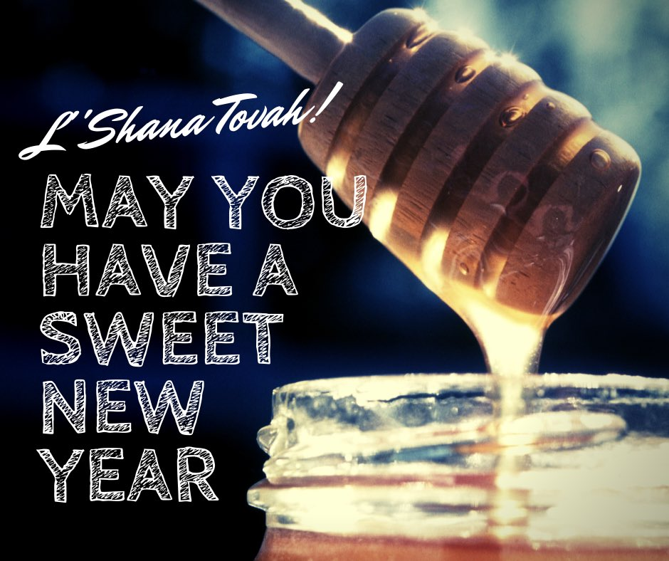 Wishing all those celebrating Rosh Hashanah tonight a happy and sweet new year. L'shana tovah! https://t.co/zUebEDjRWi