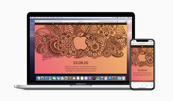 Apple will launch its online store in India on September 23rd