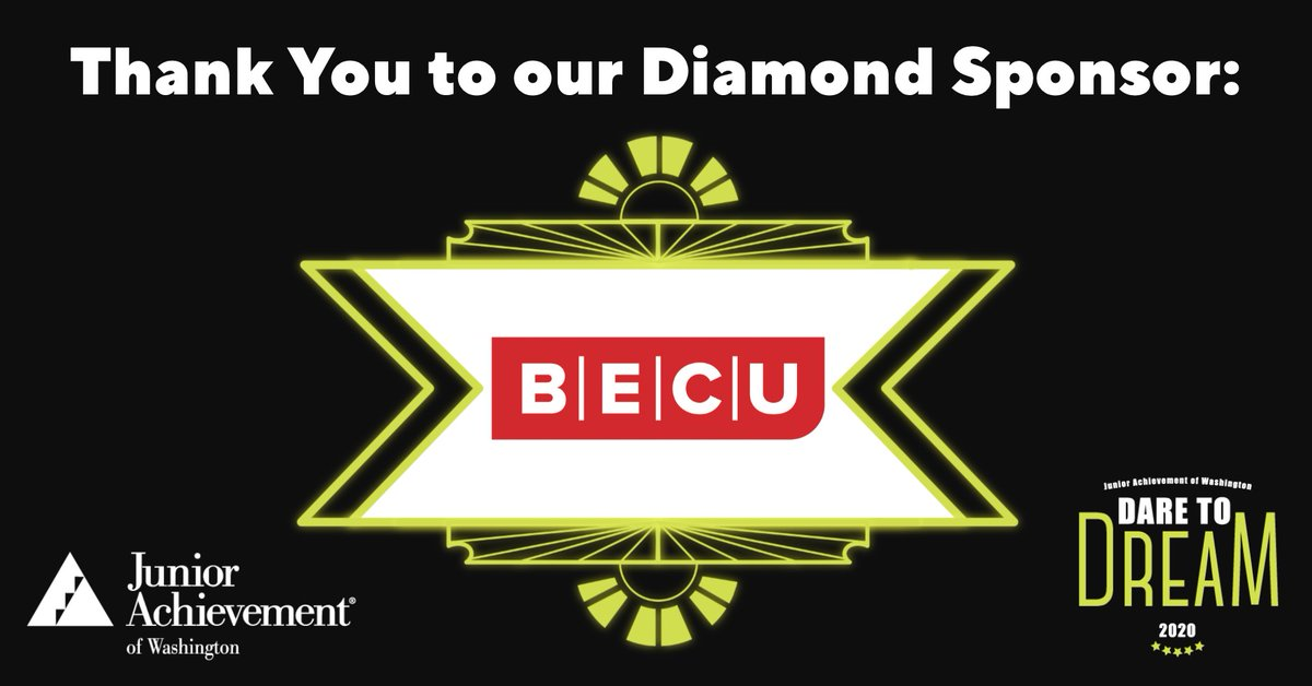 BECU is proud to be a partner of Junior Achievement (JA) for over 5 years and sponsor their Dare to Dream fundraiser benefiting student financial literacy and education. To learn more about JA visit: https://t.co/9pxgsvNCzs https://t.co/JD9xibccsR