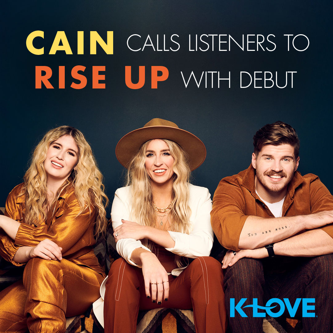 """Have you listened to Cain's new song, """"Rise Up"""" yet?! Reply back with your favorite lyric from the song. Click here to listen! https://t.co/UoR0FtKlGv https://t.co/t4bDMXSaU1"""