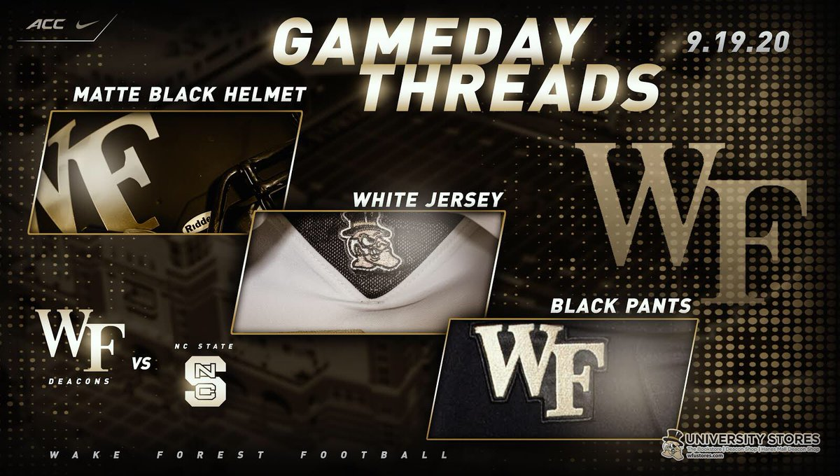 Gameday threads 👇👇👇 Presented by WFUStores.com