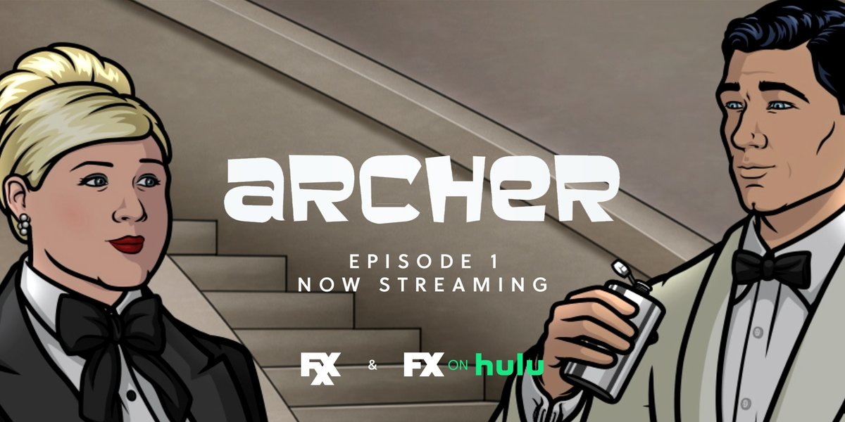 being a spy is whiskey business. stream the first episode of the new season of @archerfxx on #FXonHulu. https://t.co/tej9bjT2fo