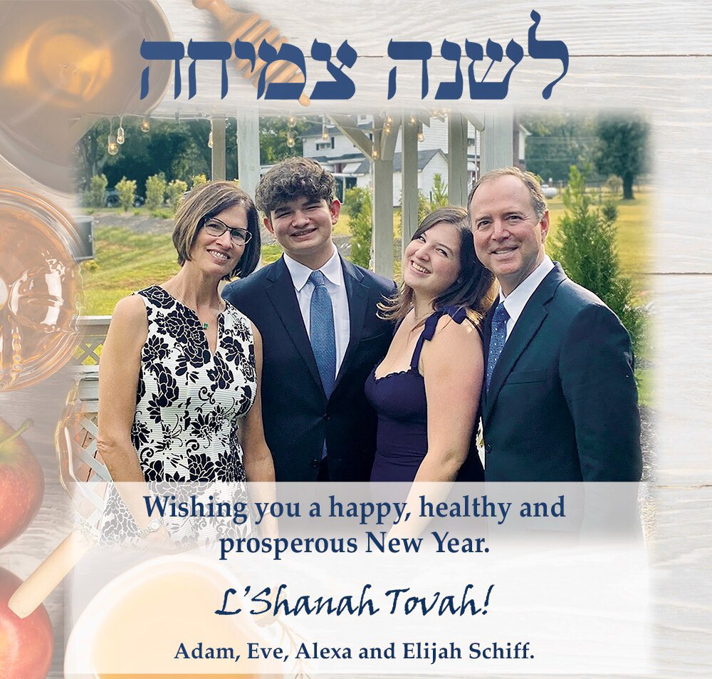 Wishing you a happy, healthy and prosperous New Year! LShana Tova!