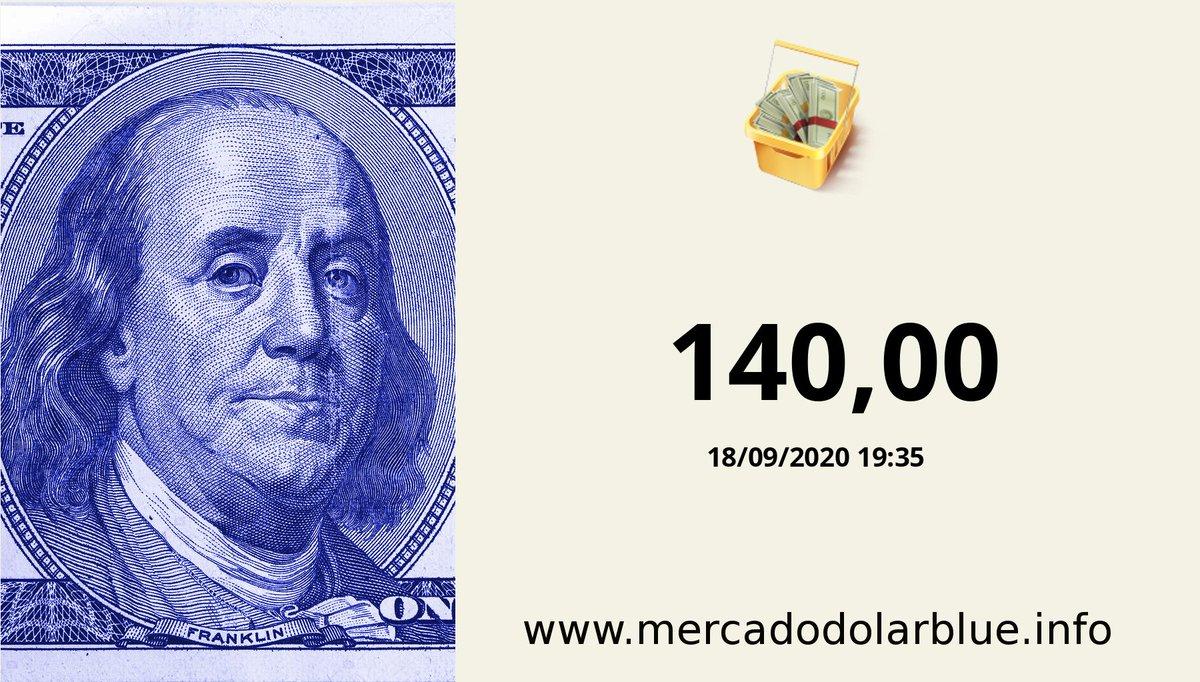 #Blue #DolarParalelo #Argentina  #DolarOficial: 79,59 #DolarBlue: 140,00 #EuroBlue: 165,66 #DolarEuro: 1,1833 https://t.co/gvOmfTmak0 https://t.co/gcrqjLSzYY
