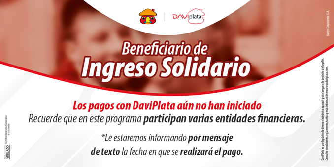 Beneficiario de Ingreso Solidario, tenga en cuenta esta información y esté atento a su celular para ser notificado con la información de su pago. https://t.co/7DZdYd6nMj
