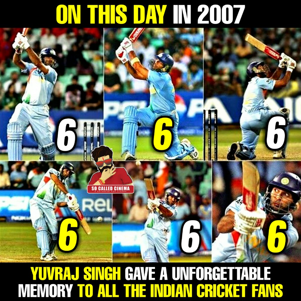 13 yrs ago on this day @flintoff11 sledged @YUVSTRONG12 ...He played it back in style with 6 back to back sixes with his beast mode on  !!  #YuvrajSingh #Flintoff #India #Cricket #SoCalledCinema https://t.co/HueMkjBhCB