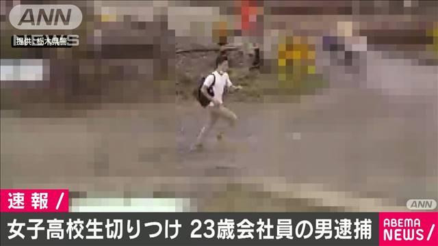 【容疑を否認】女子高校生切り付け事件、会社員の男逮捕 栃木宇都宮市のJR岡本駅西口のトイレで17日、女子高校生が男に切り付けられた事件。男は19日午前、出頭してきたという。