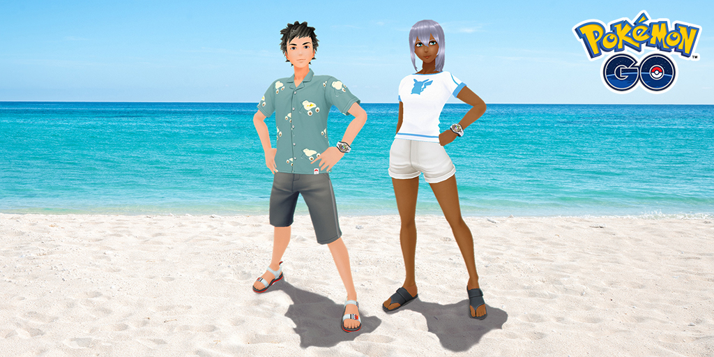 Get that summer feeling!   ✅ Put on a fresh shirt. ✅ Slip on some fun sandals. ✅ Strike a pose!  Change up your look by heading on over to the Style Shop. https://t.co/Y8JMtmswLn