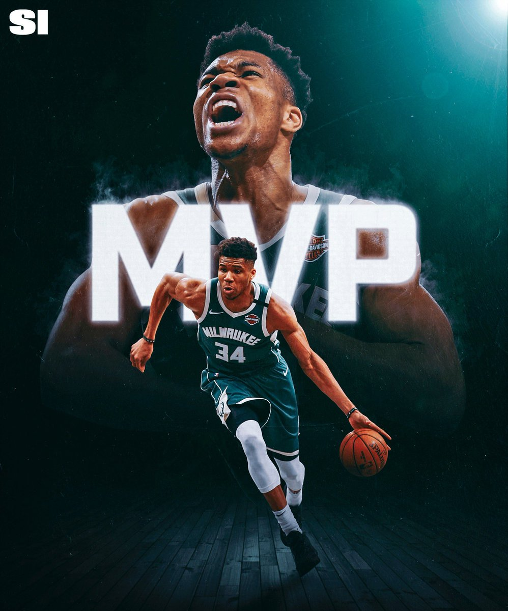 I'm #Glad that #GiannisAntetokounmpo is the #MVP again. #NBA #Bucks #MilwaukeeBucks #SportsIllustrated #Giannis #Athlete #Basketball #BasketballPlayer #Famous #NBAMVP #Phenomenon #Superstar #FearTheDeer #Nike #HarleyDavidson #BucksNation #NBAAwards #Twitter 👍 💯 ⭐ 🔥 🏀 🏆 💚 https://t.co/fi9wg1DdJ4