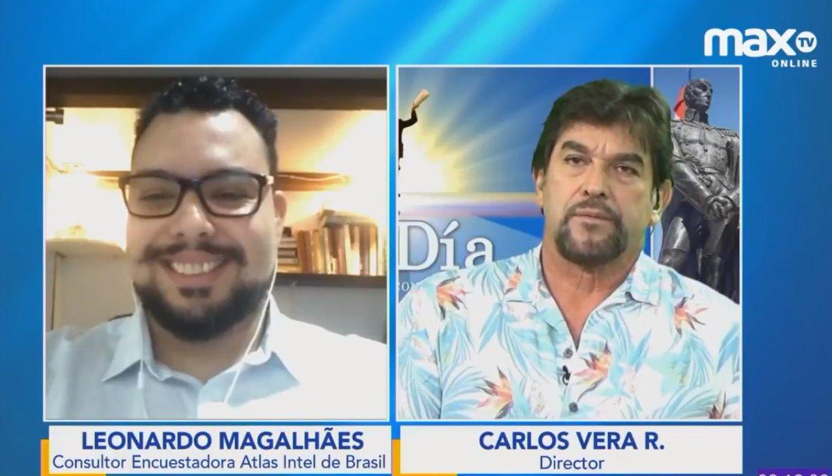 Aquí, programa completo de @aldia_opinionec  sep.18/20: la entrevista a Leonardo Magalhaes de Atlas Intel sobre Lasso vs Aráuz a las 3h10min... Link: https://t.co/HY2vfnc62z https://t.co/dDXGHusFyY