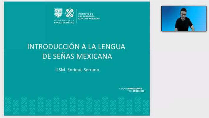 Hoy se dio inicio al curso de #Lengua de #Señas #Mexicana Básico I #LSM con @ASOMAS_IAP, con el objetivo de generar #Herramientas de #Comunicación con la #ComunidadSorda y aprendiendo que la Lengua de Señas Mexicana, es una serie de #Signos gestuales articulados con las #Manos. https://t.co/T63yArCXFr