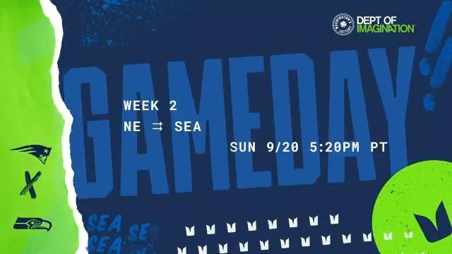 Sunday Night Football is HERE ❗ #GoHawks x #NEvsSEA