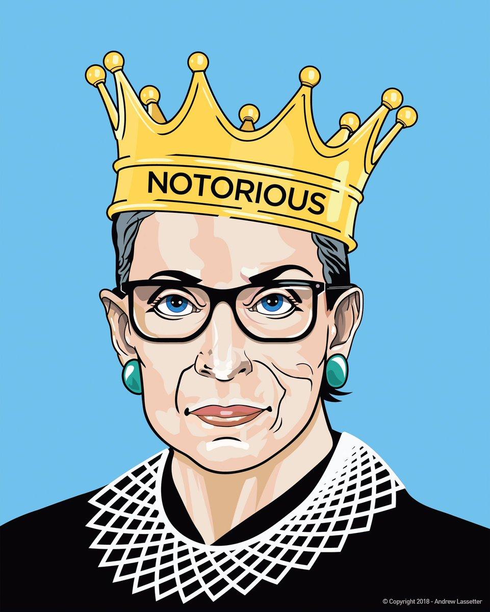 @elizabethluis's photo on #NotoriousRBG