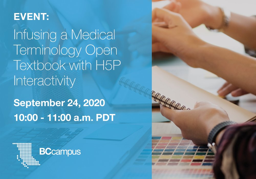 On September 24, educators Kim Carter and Marie Rutherford will share the thinking behind the design of their H5P practice activities, their reason for choosing which types of content types to use, and what they learned in the process.  Learn more: https://t.co/j8rCgN9Ogc https://t.co/Li1ecU3j08