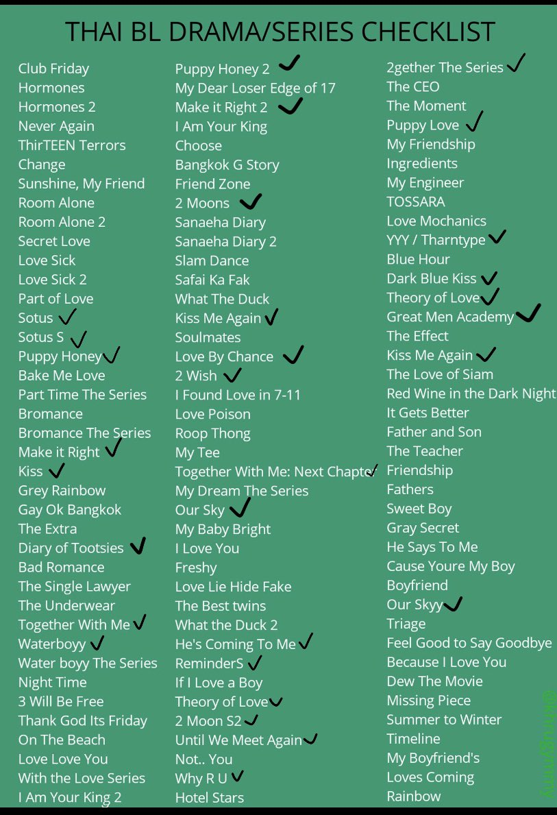 Not surprised🌚I believe I've finished almost all the good ones on the list #BL #GMMTV #Thailand https://t.co/Qlqys5sNoB