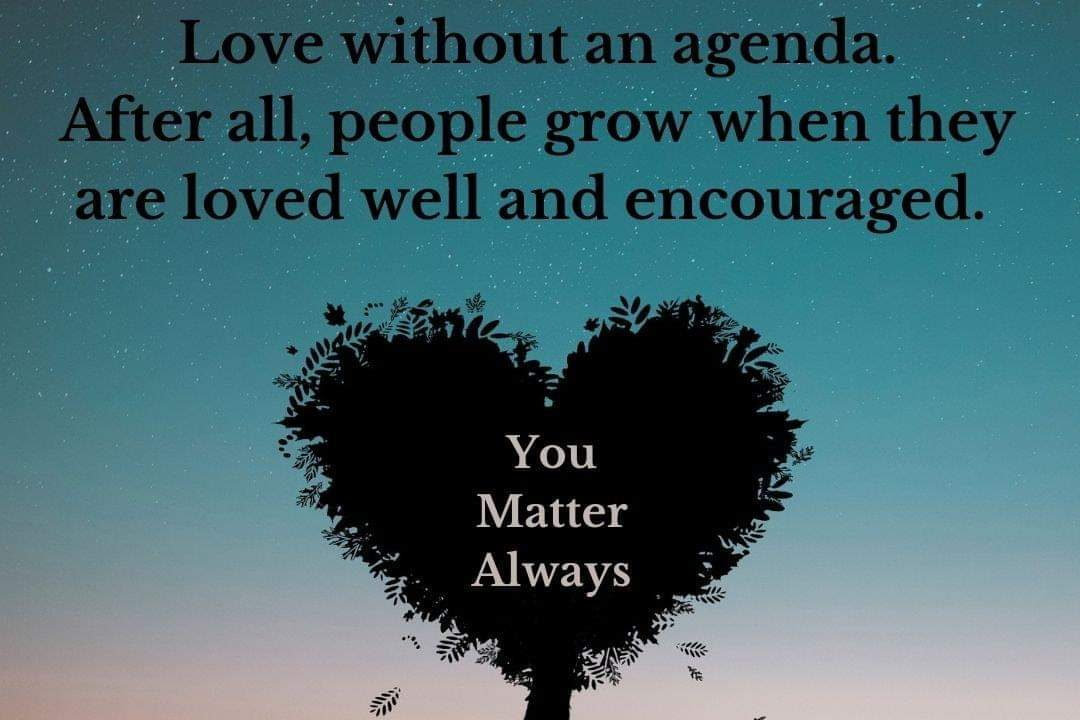 People grow when they are loved well and encouraged 💜💜💜 #YouMatterAlways #lovechangeseverything #growthmindset #growthroughwhatyougothrough #loveyourself #loveothers #loveisallaround https://t.co/iip9D14UYH
