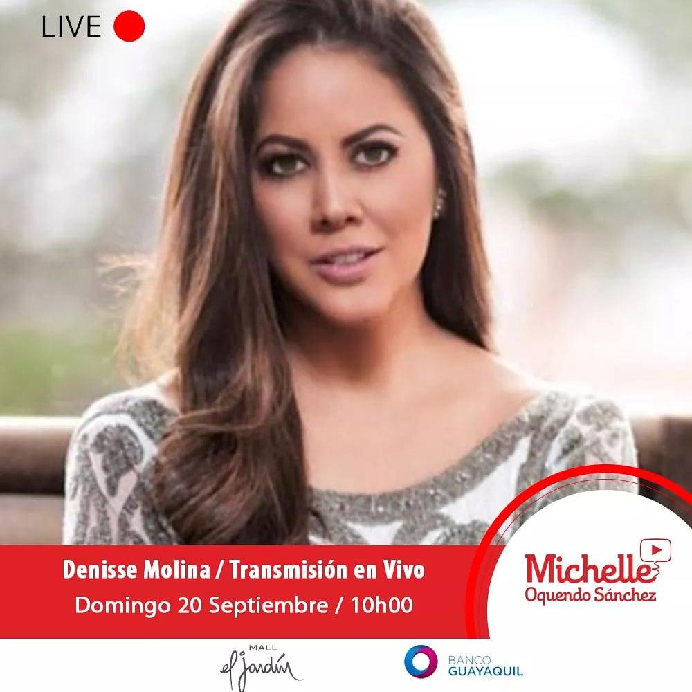 No se pueden perder esta gran entrevista junto a @Denisse_Molina  este domingo 20 de septiembre a las 10h00 por Facebook live.  #FacebookLive #Entrevista #Periodismo #denissemolina https://t.co/I30lHdXXd9