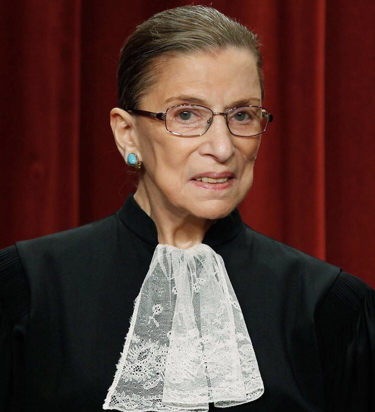 Descanse en paz. 🙏🏼 #Repost @people ・・ US Supreme Court justice Ruth Bader Ginsburg has died at the age of 87. She was the second woman appointed to the Supreme Court whose unwavering fight for women's rights and social justice made her an icon to many. 📷: Mark Wilson/Getty https://t.co/678OsbZqGv