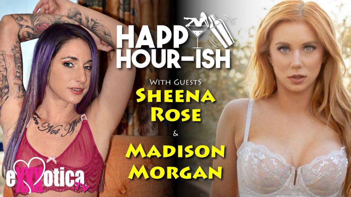 Listen to last Friday's episode of EXXXOTICA.tv's Happy Hour-ish With Sheena Rose @SheenxSheen & Madiosn Morgan @MadisonMorganxo!  Podcast: happyhourish.podiant.co/e/madison-morg…   #Haooy Hour-ish #SheenaRose #MadisonMorgan #podcast